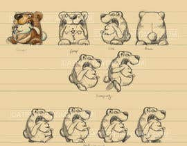 #39 cho Character Design: Combination of a Bunny and a Bear bởi datpt1112