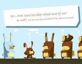 #56 cho Character Design: Combination of a Bunny and a Bear bởi datpt1112