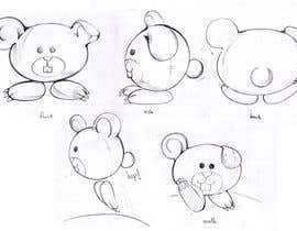 #3 for Character Design: Combination of a Bunny and a Bear af saiyaneia