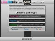 Contest Entry #10 for Design a Website Mockup for domain Ladyboygame.com