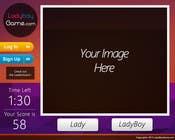 Contest Entry #14 for Design a Website Mockup for domain Ladyboygame.com
