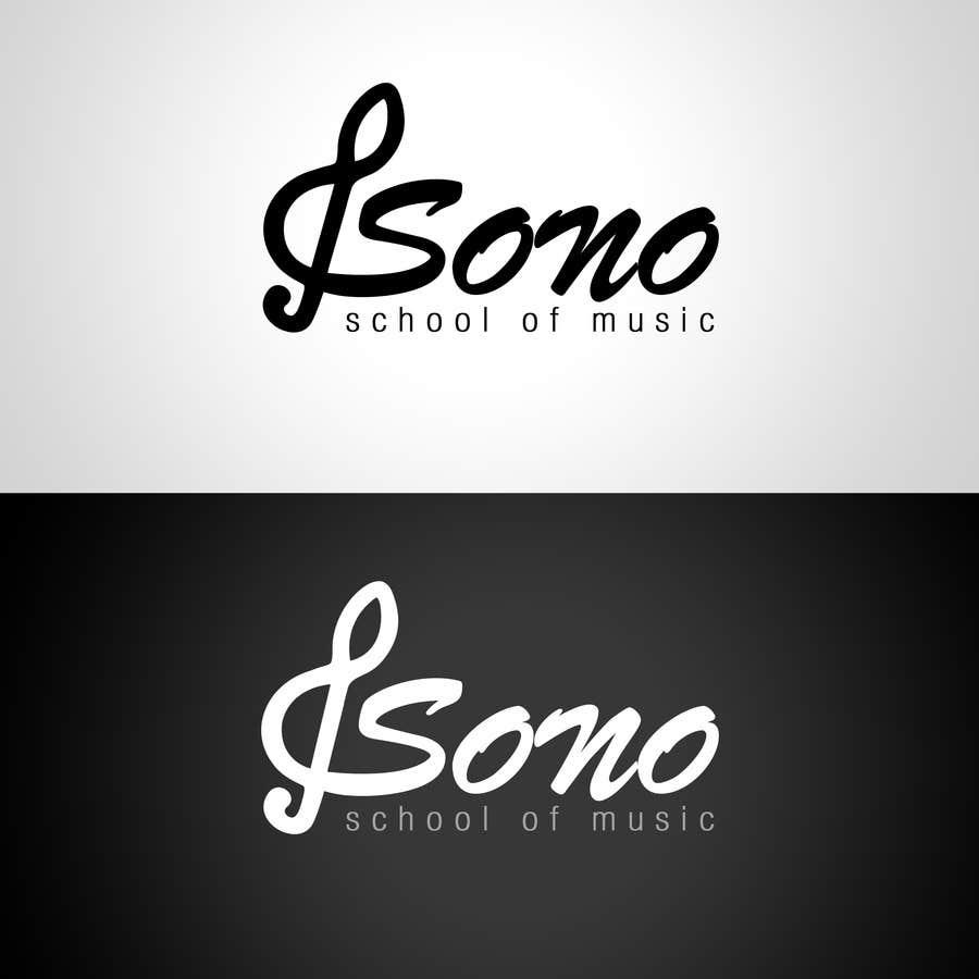 Kilpailutyö #109 kilpailussa Design a Logo for Sono School Of Music