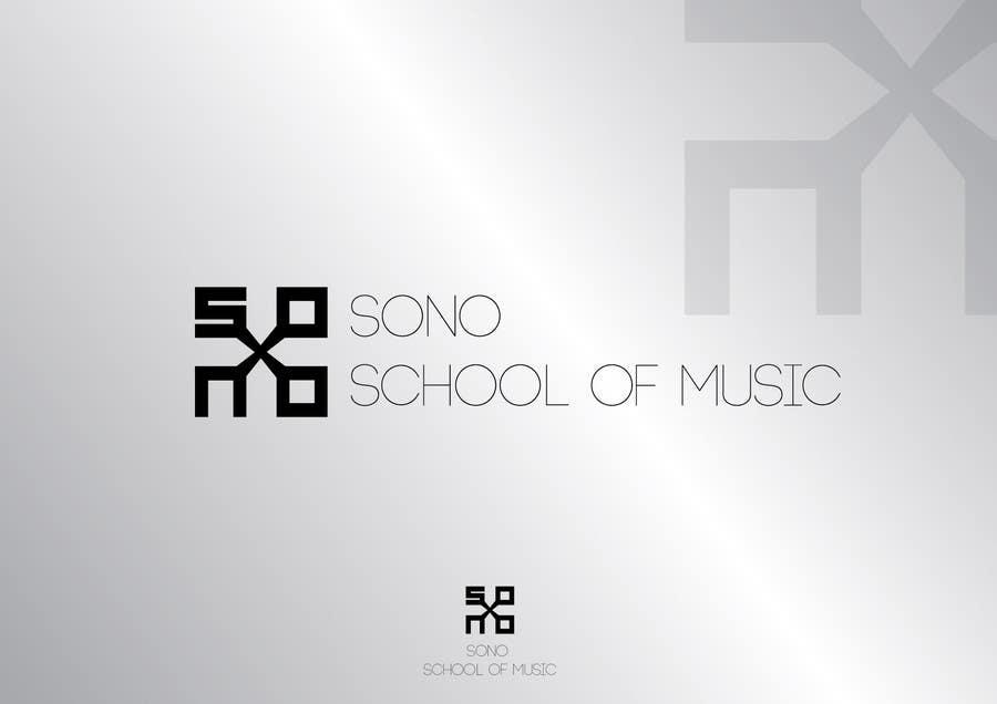 Kilpailutyö #110 kilpailussa Design a Logo for Sono School Of Music