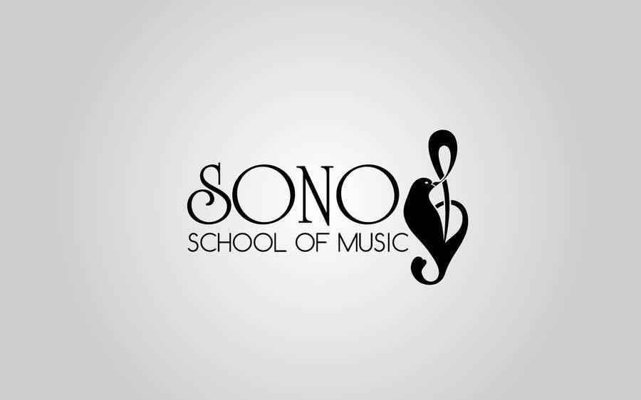 Kilpailutyö #53 kilpailussa Design a Logo for Sono School Of Music