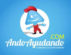 #165 for Logo Design for andoayudando.com (a cause marketing social media platform) by Zanshin