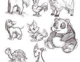 #15 cho Illustrate Animals for Childeren Game bởi alextlin