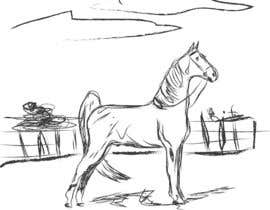 #6 for Hand-drawn sketch of horse in AI format af ratheeshjd