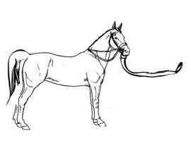 #12 for Hand-drawn sketch of horse in AI format af ticktickboom