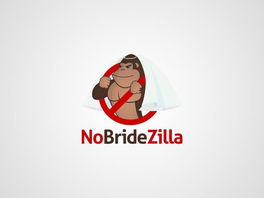 Kilpailutyö #8 kilpailussa BrideZilla Logo