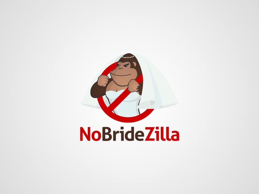 Kilpailutyö #9 kilpailussa BrideZilla Logo