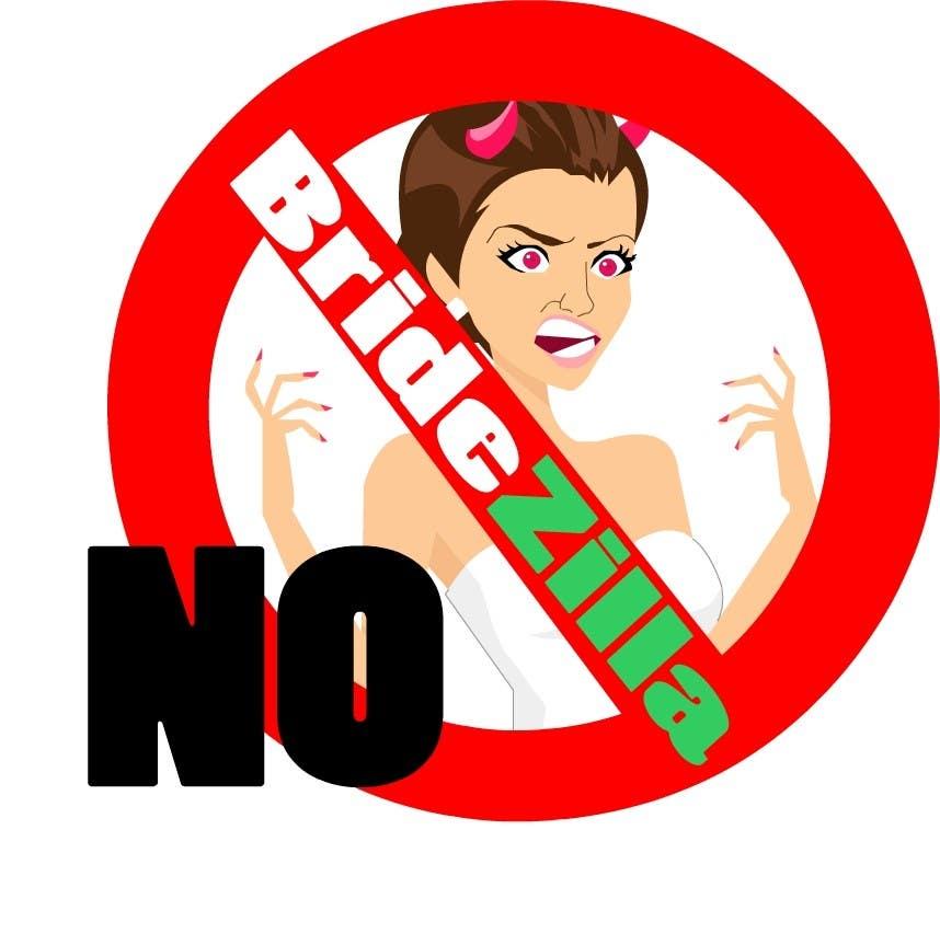 Kilpailutyö #44 kilpailussa BrideZilla Logo