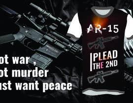 #10 for Design a Gun T-Shirt by shasun16