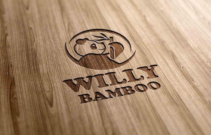 Kilpailutyö #170 kilpailussa Design a Logo for Willy Bamboo
