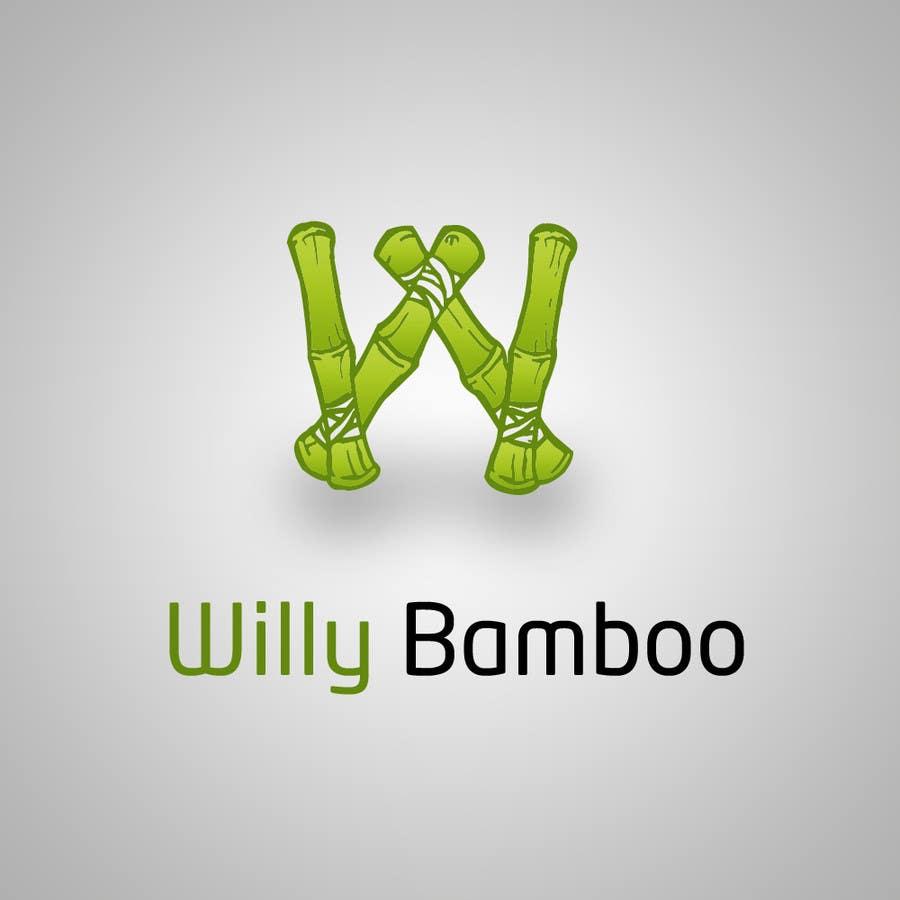 Kilpailutyö #7 kilpailussa Design a Logo for Willy Bamboo