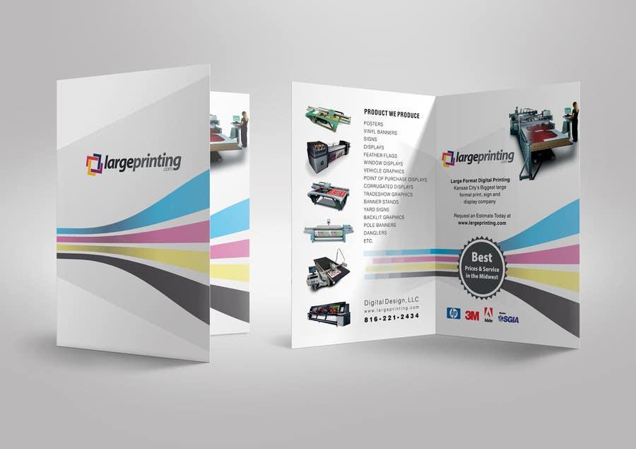 Penyertaan Peraduan #4 untuk Products and Services Brochure