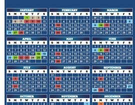 #13 cho Simple updates to Calendar Design bởi saryanulik