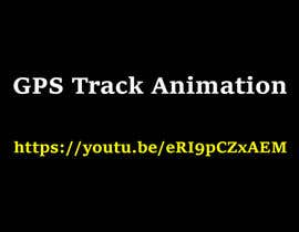 Nro 2 kilpailuun animated map video of GPS track käyttäjältä ELMANARA