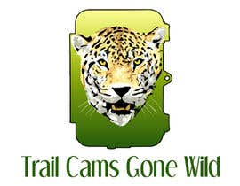 nº 45 pour Design a Logo for Trail Cams Gone Wild par saiprasannamenon