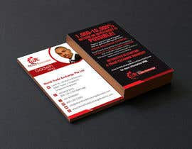 #55 para Design Business Card Using Our Logo Already designed por rajnandanpatel