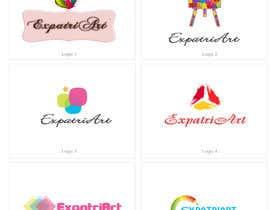 Nro 191 kilpailuun Design a Logo for ExpatriArt käyttäjältä infostarvision