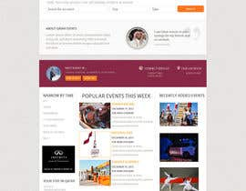#32 cho Design a Website Mockup for an event website and guide bởi dnyakana