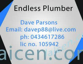 nº 2 pour Design some Business Cards for The Endless Plumber par imagestudio