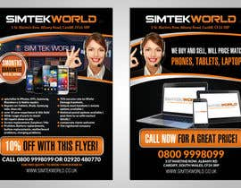 #8 for Good Design a Flyer for SimTek World Ltd by hih7