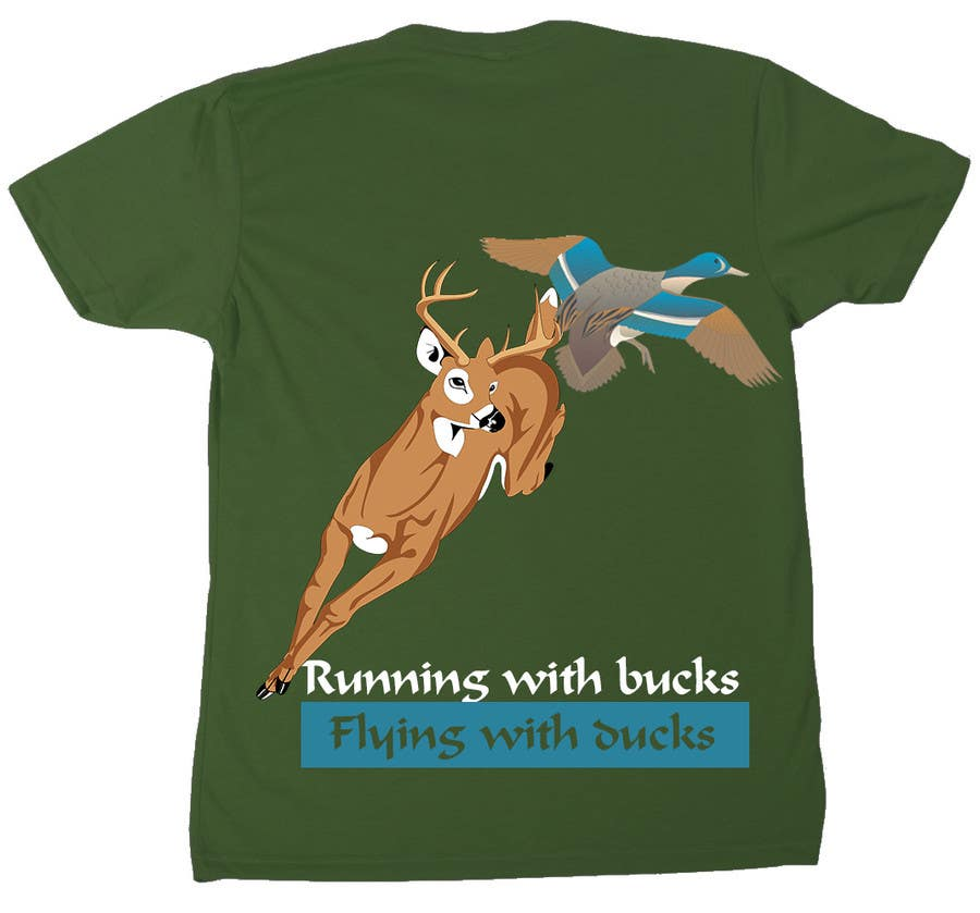 #26 for Design a deer and ducks t shirt Many more jobs to come this is a test to find our designer. Logo by reblien
