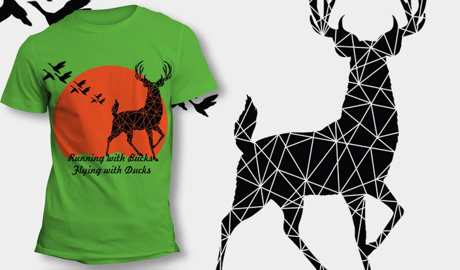 #37 for Design a deer and ducks t shirt Many more jobs to come this is a test to find our designer. Logo by theislanders