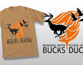#38 for Design a deer and ducks t shirt Many more jobs to come this is a test to find our designer. Logo by theislanders
