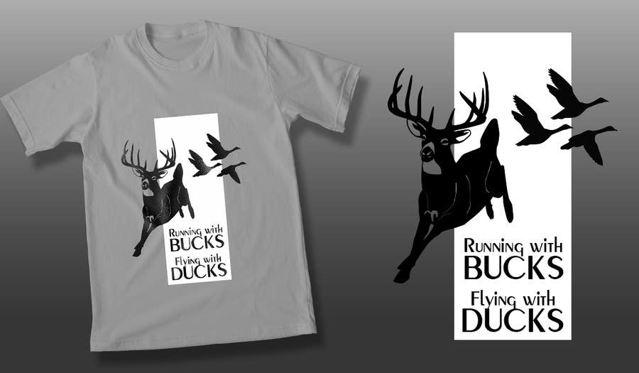 #41 for Design a deer and ducks t shirt Many more jobs to come this is a test to find our designer. Logo by theislanders