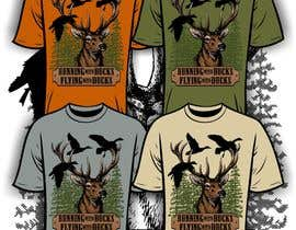 Nro 10 kilpailuun Design a deer and ducks t shirt Many more jobs to come this is a test to find our designer. Logo käyttäjältä iYNKBRANE
