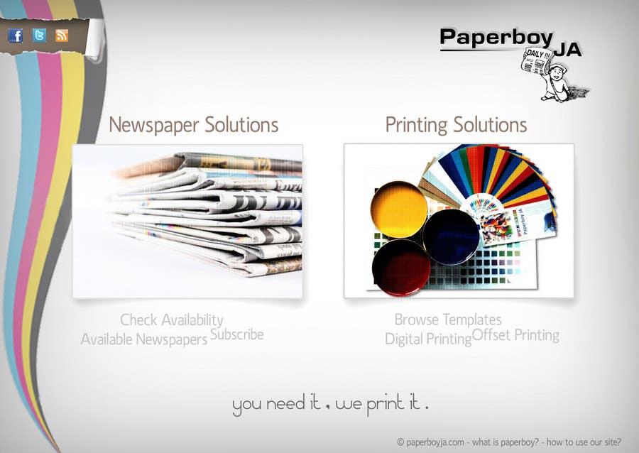 Konkurrenceindlæg #                                        43                                      for                                         Graphic Design for Paperboy JA