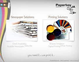 nº 43 pour Graphic Design for Paperboy JA par pratik12691