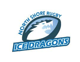 yacineghommidh tarafından Sports Logo for North Shore Rugby Ice Dragons için no 61