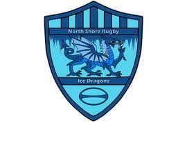AlexBogdanArts tarafından Sports Logo for North Shore Rugby Ice Dragons için no 37