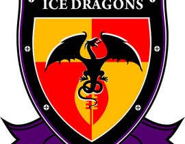 z35304 tarafından Sports Logo for North Shore Rugby Ice Dragons için no 75