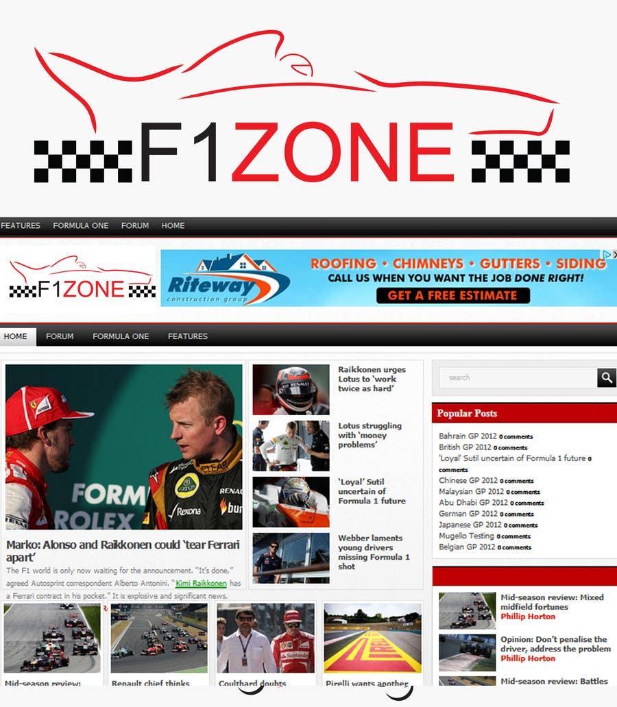 Contest Entry #48 for Design a Logo for a racing website