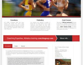 #6 cho Design a Website Mockup for Athletics Training Site - repost bởi backibreg