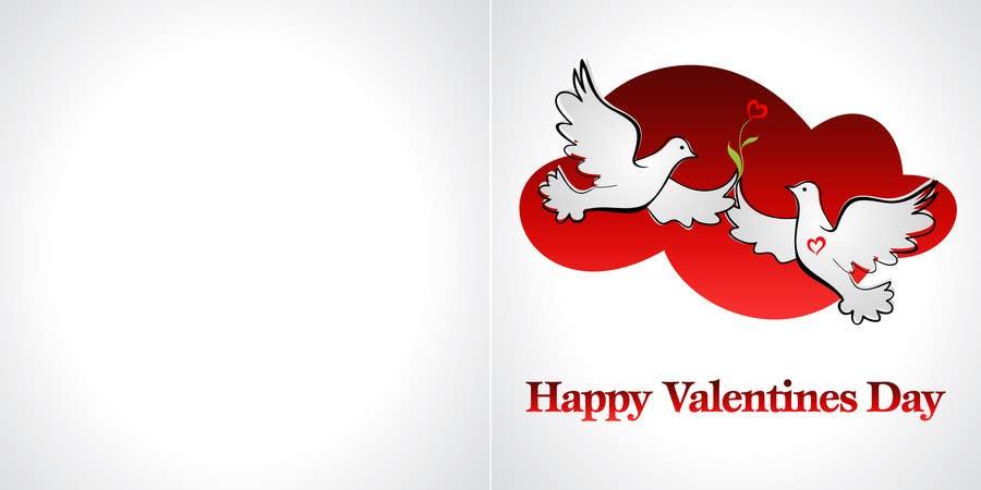 Kilpailutyö #33 kilpailussa Design some Stationery for a Valentine's Day card