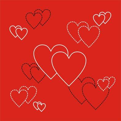 Kilpailutyö #37 kilpailussa Design some Stationery for a Valentine's Day card