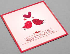 #6 untuk Design some Stationery for a Valentine's Day card oleh VrushaliSingh