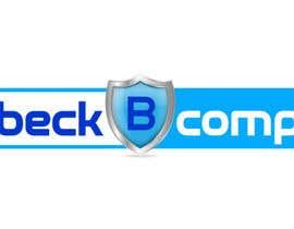 Nro 93 kilpailuun Shield Logo for Beck Computer Systems käyttäjältä hasnarachid2010