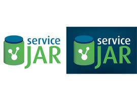 #81 for Design a Logo for the ServiceJar website af FredCN