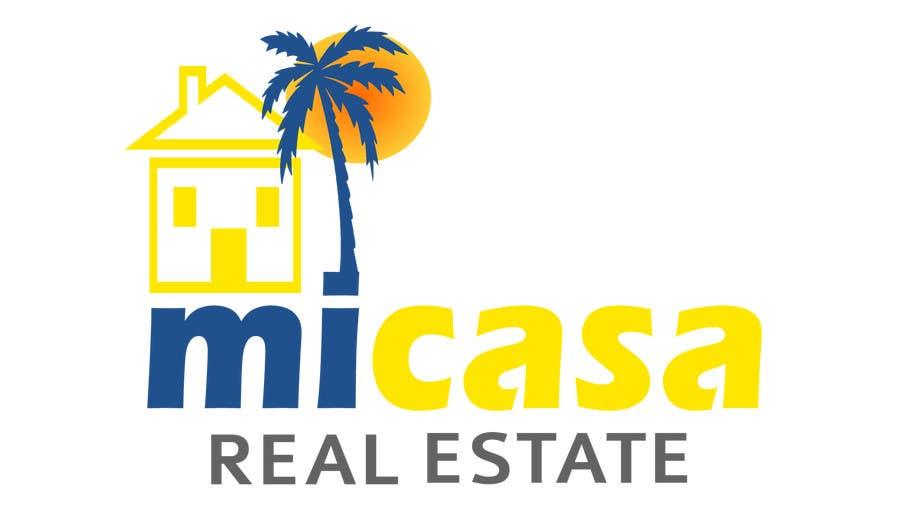 Penyertaan Peraduan #54 untuk Design a Logo for a real estate website