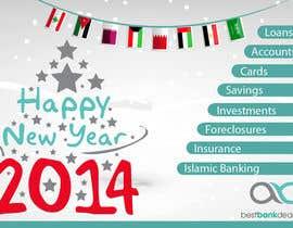 #2 untuk Design an e-greeting card for new year oleh annahavana