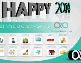 #5 untuk Design an e-greeting card for new year oleh mohamedabbass
