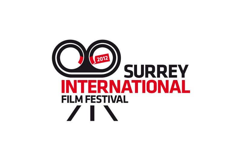 Конкурсная заявка №215 для Logo Design for Surrey International Film Festival