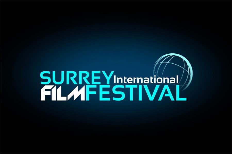 Конкурсная заявка №291 для Logo Design for Surrey International Film Festival