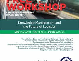 #18 untuk Design a Flyer for a Logistics Workshop oleh barinix